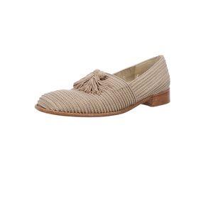 Stuart Weitzman Woven Loafers